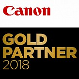 Canon Gold Partner 2018