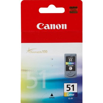 Inkoustová cartridge color Canon CL-51 0618B001 pro iP2200/6220D/6210D MP150/170/450/460  MX300