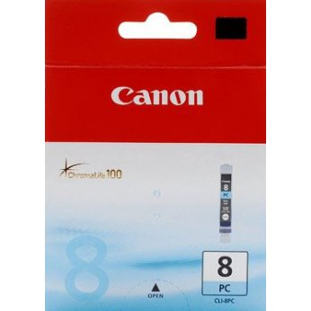 Inkoustová cartridge photo cyan Canon CLI-8PC 0624B001 pro iP6600D/6700D, PRO9000, MP970