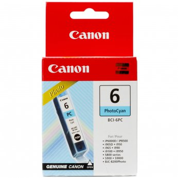 Inkoustová cartridge photo cyan Canon BCI-6PC 4709A002 pro iP6000D/iP8500 i9950 i905D/i950/i965