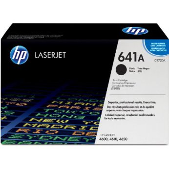Cartridge toner black, černý HEWLETT PACKARD C9720A pro Color LJ 46x0