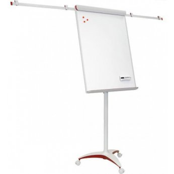 Flipchart Mobilchart PRO RED 100x70 cm P-TF18