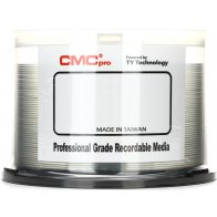 DVD-R CMCpro JVC Taiyo Yuden 4,7GB 16x white printable WaterShield - 50 ks spindle cakebox LESKLÉ