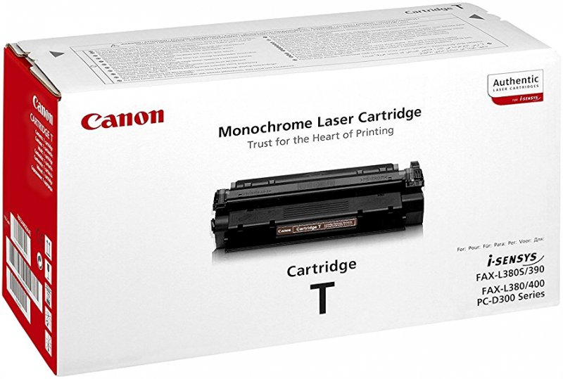 Cartridge toner black CANON T 7833A002 do PCD320, PCD340, FAXL400 černý