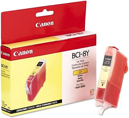 Cartridge inktank yellow Canon BCI-8Y pro BC-81