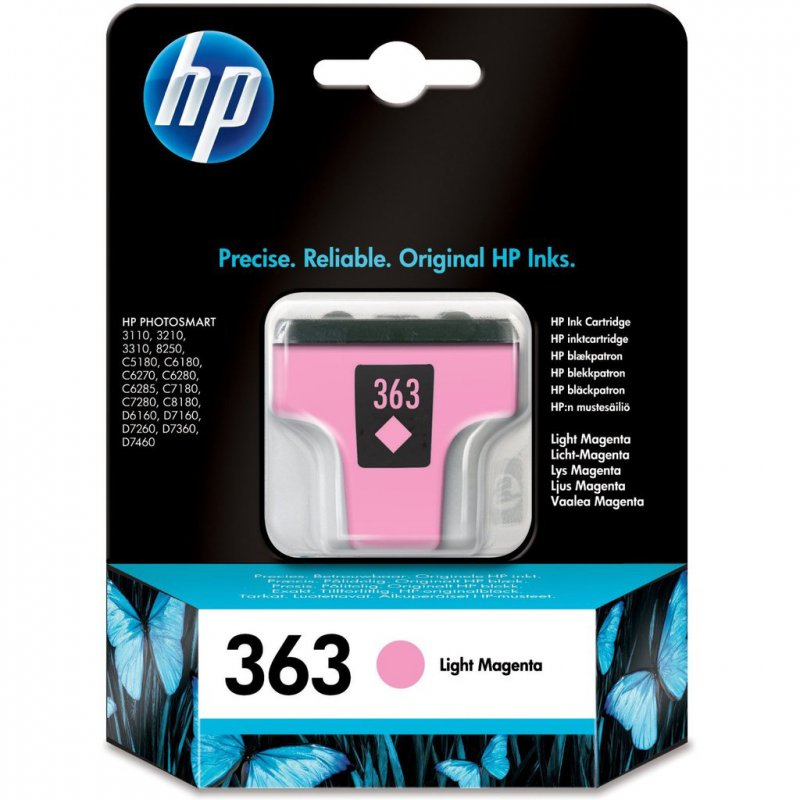 HP 363 light magenta C8775EE - originál