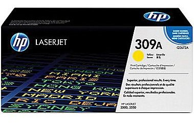 Cartridge toner yellow HP pro CLJ 3500-Q2672A