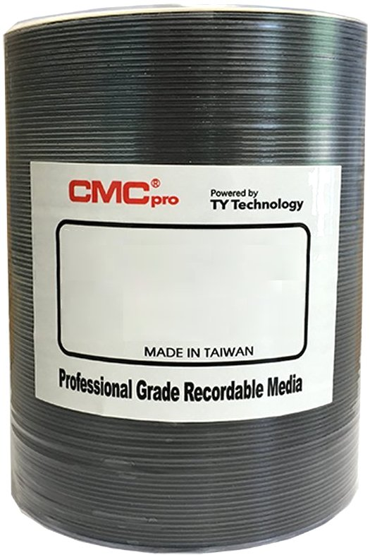 CD-R CMCpro JVC Taiyo Yuden 700MB 48x white printable - 100 ks spindle